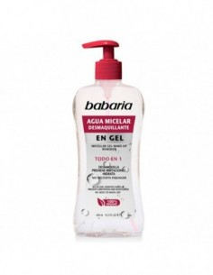 BABARIA AGUA MICELAR DEMAQUILLANT EN GEL 400ML - 1