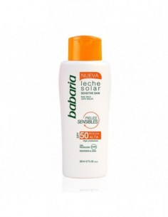 BABARIA SENSITIVE SKIN LECHE CORPORAL SPF50 SENSITIVE SKIN WATERPROOF 200ML - 1