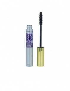 MAYBELLINE - COLOSSAL BIG SHOT tinted fiber primer mascara N. black - 1