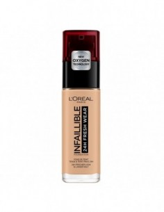 L'OREAL - L\'OREAL INFALLIBLE 24H FRESH WEAR FOND DE TEINT 125 NATUREL ROSE - 1