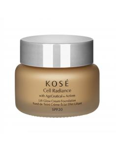 KOSÉ CELL RADIANCE LIFT GLOW CREAM FOUNDATION 201 NATURAL BEIGE - Imagen 1