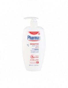 PHARMALINE SENSITIVE BODY MILK 500ML - 1