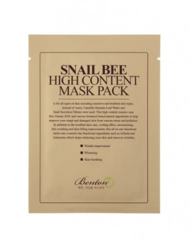 SNAIL BEE HIGH CONTENT MASK - 2
