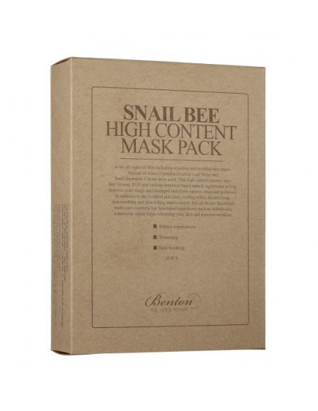 SNAIL BEE HIGH CONTENT MASK - 3