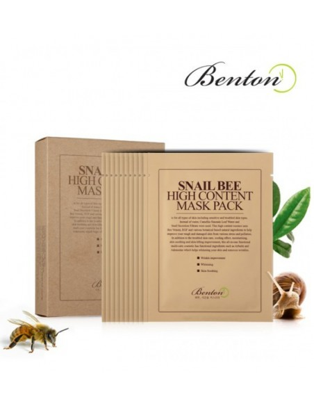 SNAIL BEE HIGH CONTENT MASK - 7