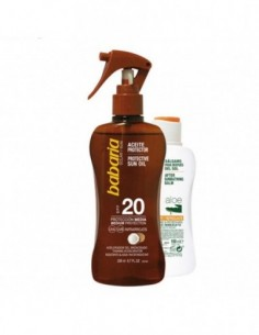 BABARIA COCO ACEITE SPF20 200ML + ALOE VERA AFTER SUN 100ML - 1