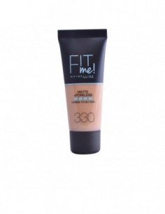 MAYBELLINE - FIT ME MATTE+PORELESS foundation N. 330-toffee - 1