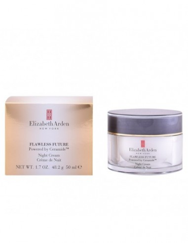 ELIZABETH ARDEN - FLAWLESS FUTURE powered by ceramide night cream 50 ml - 1