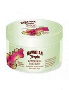 HAWAIIAN TROPIC AFTER SUN BODY BUTTER EXOTIC COCONUT 200ML - 1