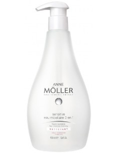 ANNE MöLLER - ANNE MÖLLER FOR MAN - SENSITIVE eau micellaire 3 en 1 400 ml - 1