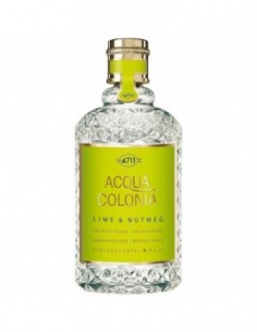 4711 ACQUA COLONIA EAU DE COLOGNE LIME & NUTMEG 170ML VAPORIZADOR - 1